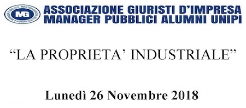 Seminario in tema di Proprietà Industriale