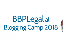 BBPLegal al Blogging Camp il 22 Settembre 2018